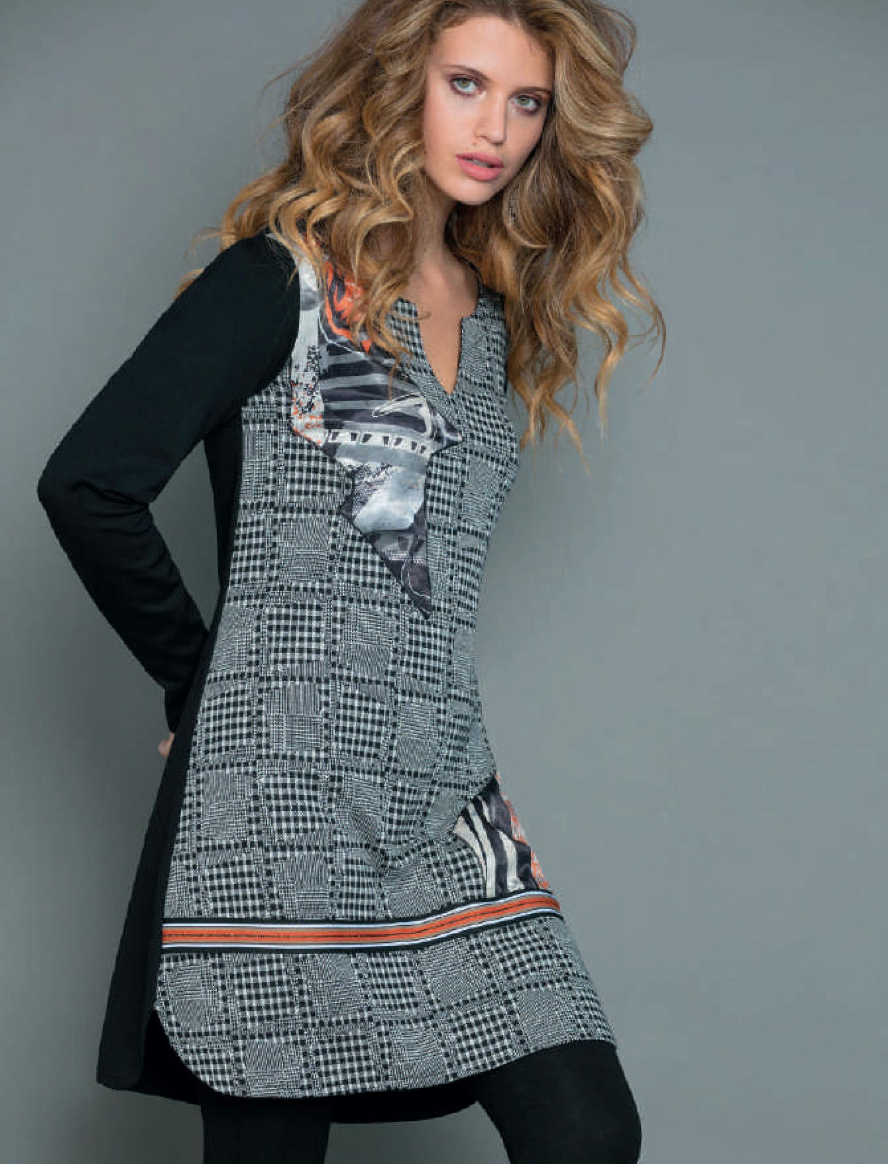 Maloka: Jazz Girl Printed Jacquard Stretch Slip Dress MK_JAMILE