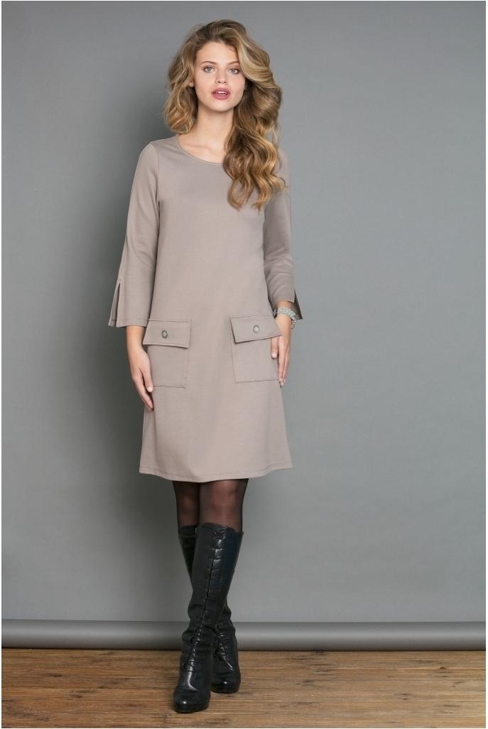 Maloka: Fit & Flare Pocket Midi Dress (Many Colors!) MK_DELICE
