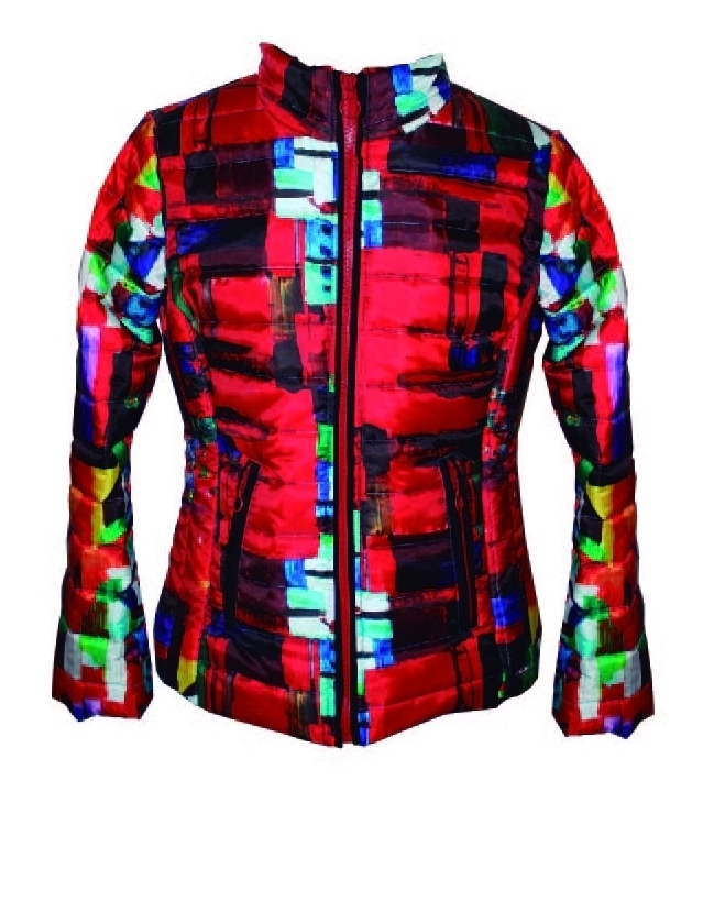 Maloka: Magic Cube Abstract Art Jacket (More Colors!)