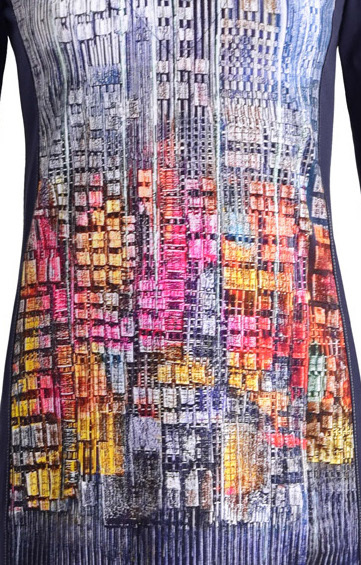 Simply Art Dolcezza: Papillons Of The Night Abstract Art Dress SOLD OUT