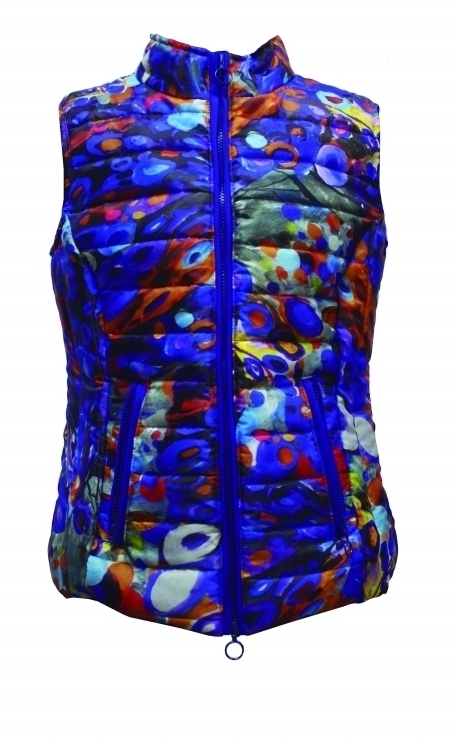 Maloka: French Fairytale Village Abstract Art Vest (Few Left, More Colors!) MK_VOGUE_N1