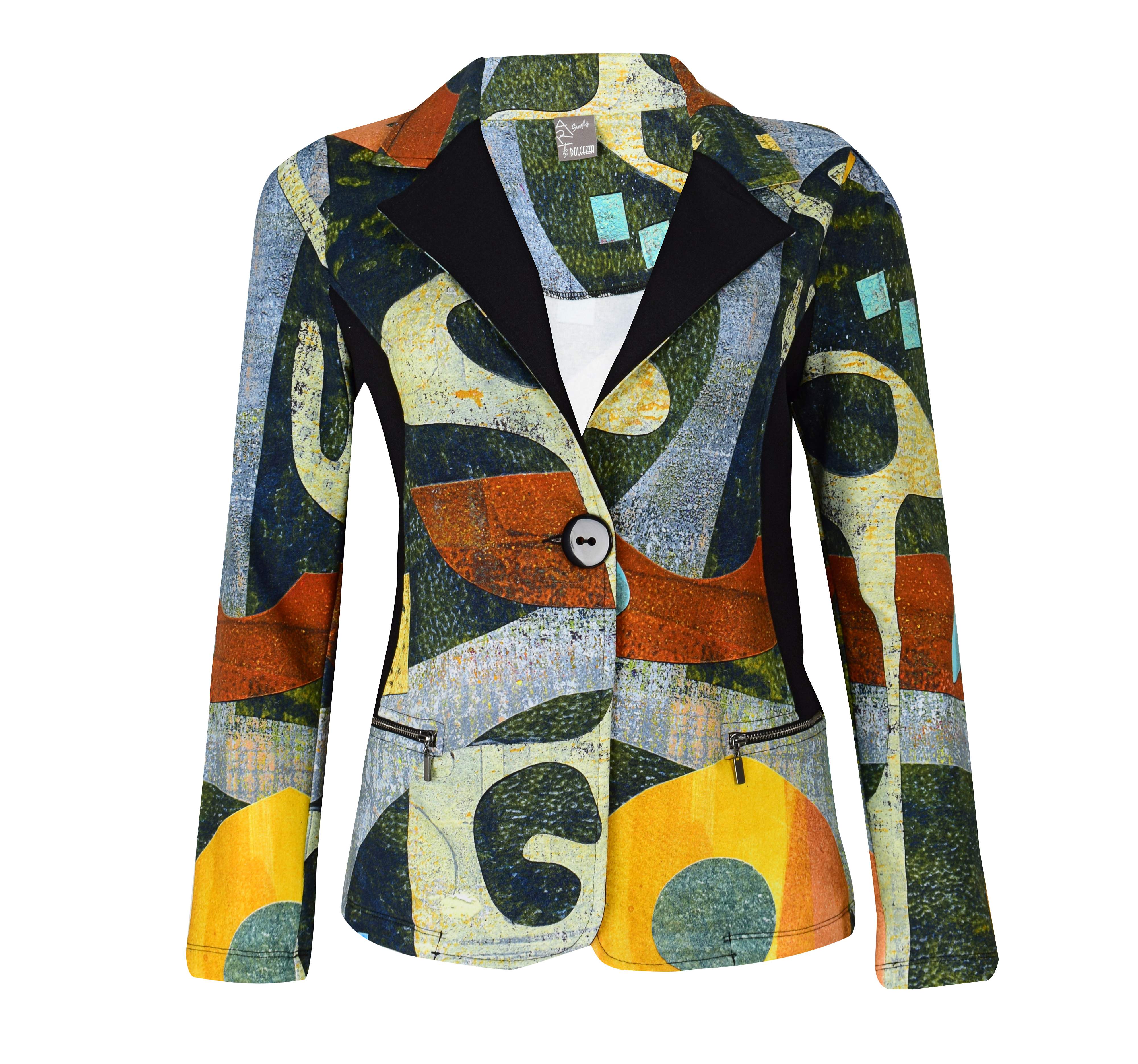 Simply Art Dolcezza: Small Collage Of Eclecticism Abstract Art Jacket Dolcezza_SimplyArt_59746