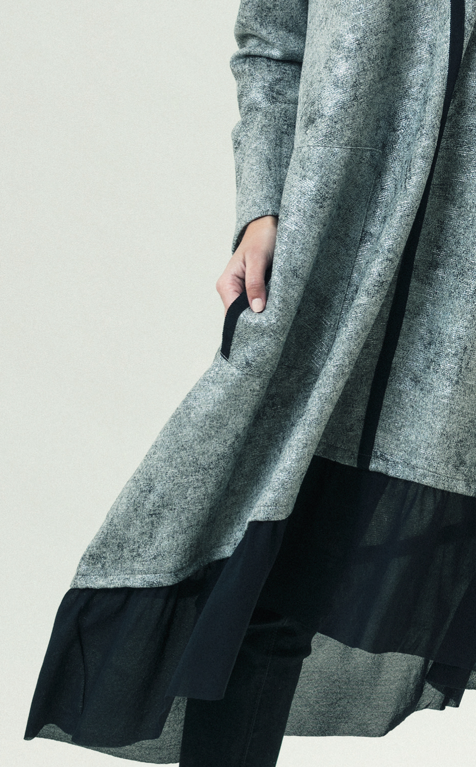 G!oze France: Platinum Devil Trapeze Pocket Dress (2 Left!)