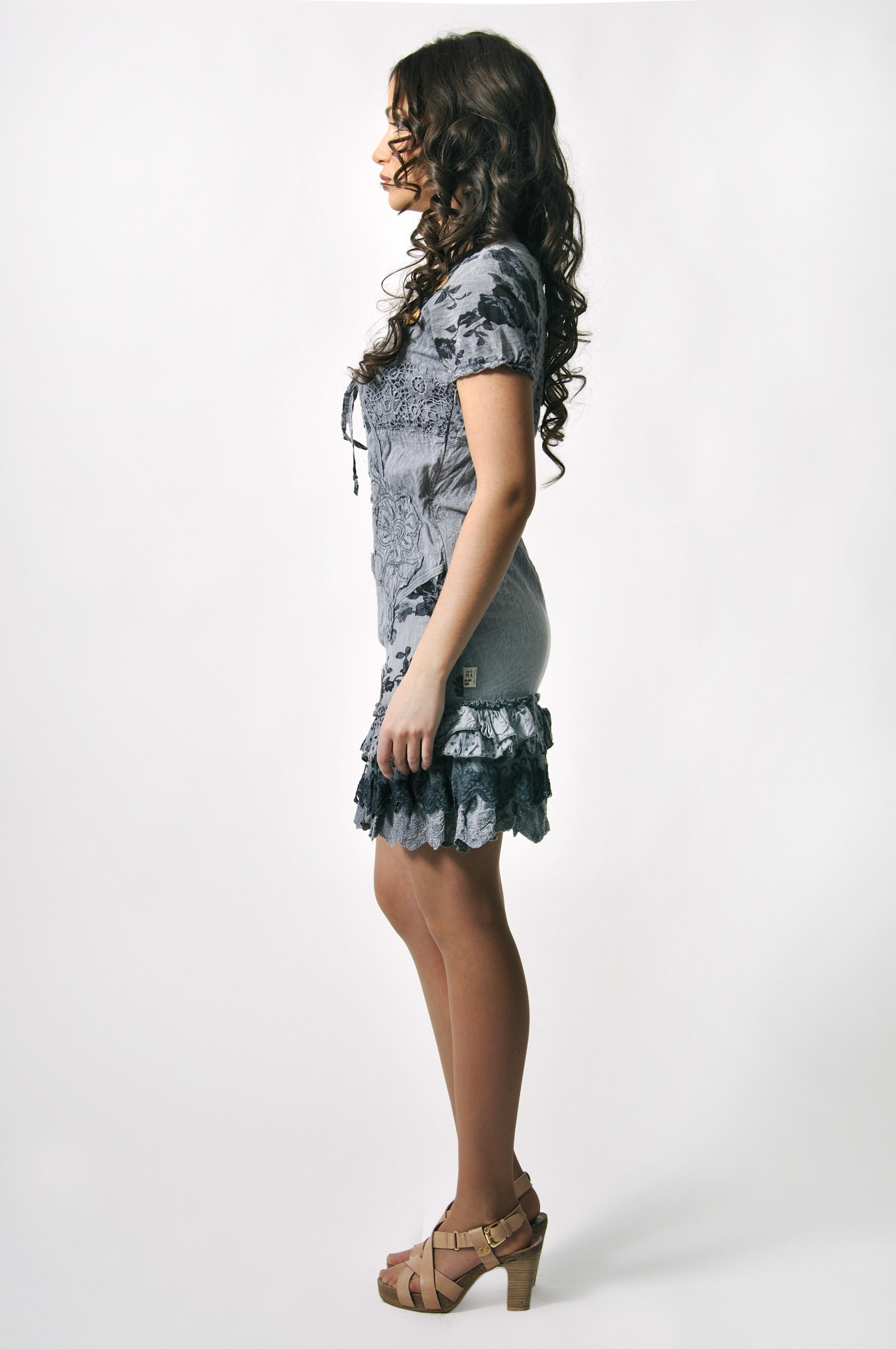 Savage Culture: Taste Me Tiffany Crinkled Cotton Dress (1 Left!)