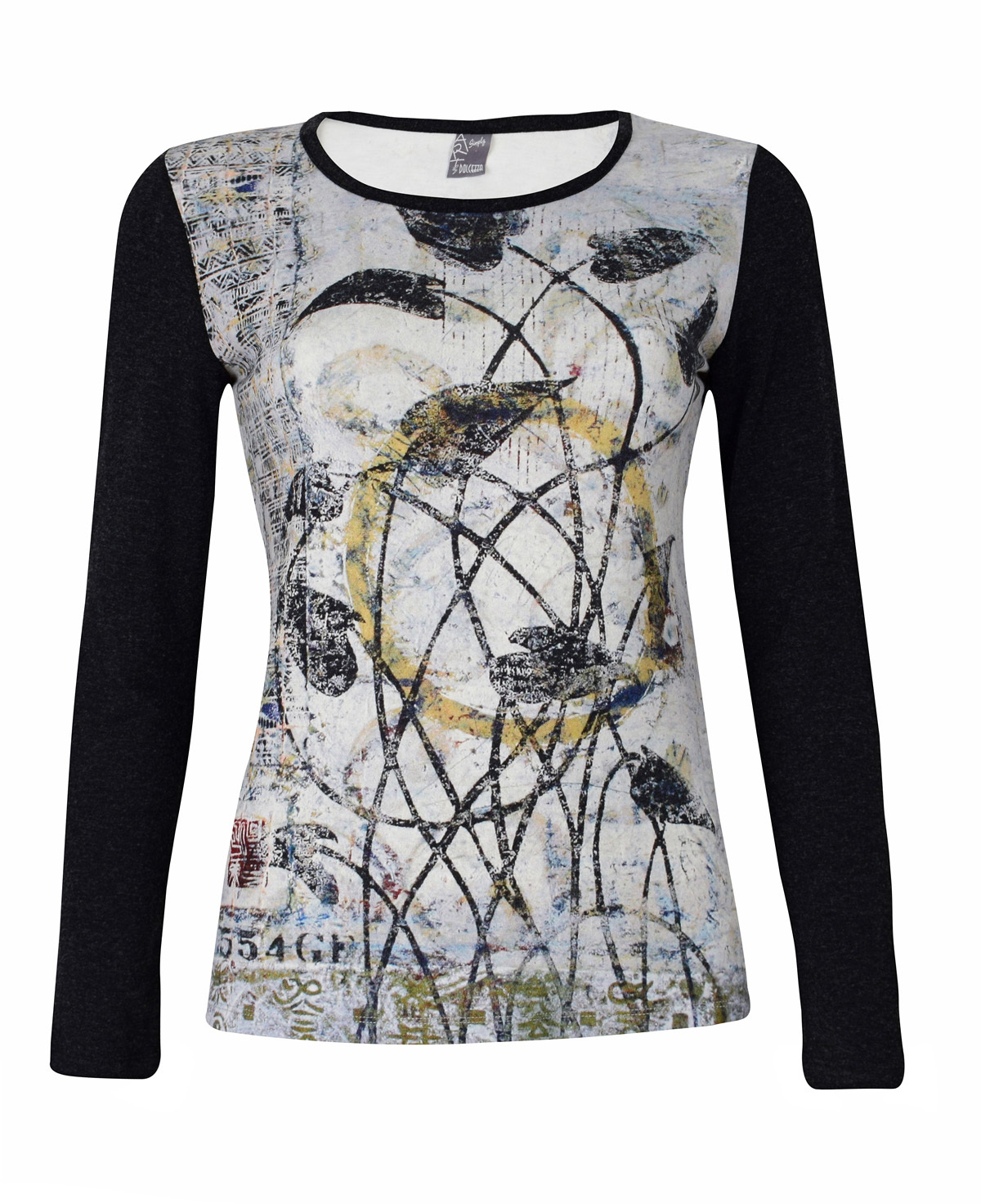Simply Art Dolcezza: Random Acts Of Petal Beauty Abstract Art Tunic (2 Left!) Dolcezza_SimplyArt_59610