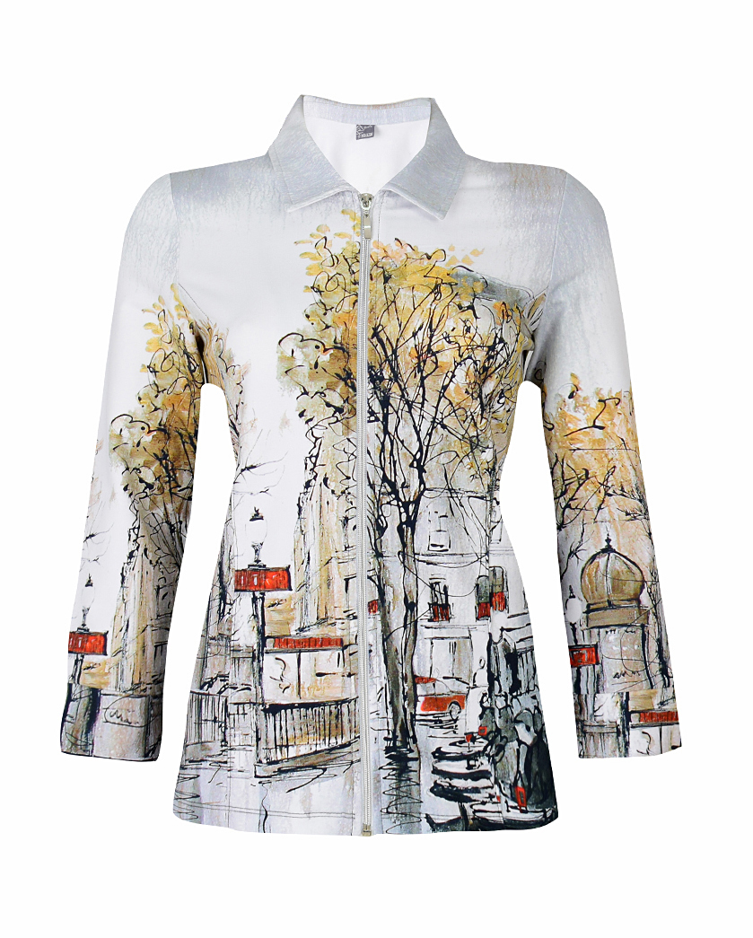 Simply Art Dolcezza: Splendid Parisian Life Zip Jacket Dolcezza_SimplyArt_59706