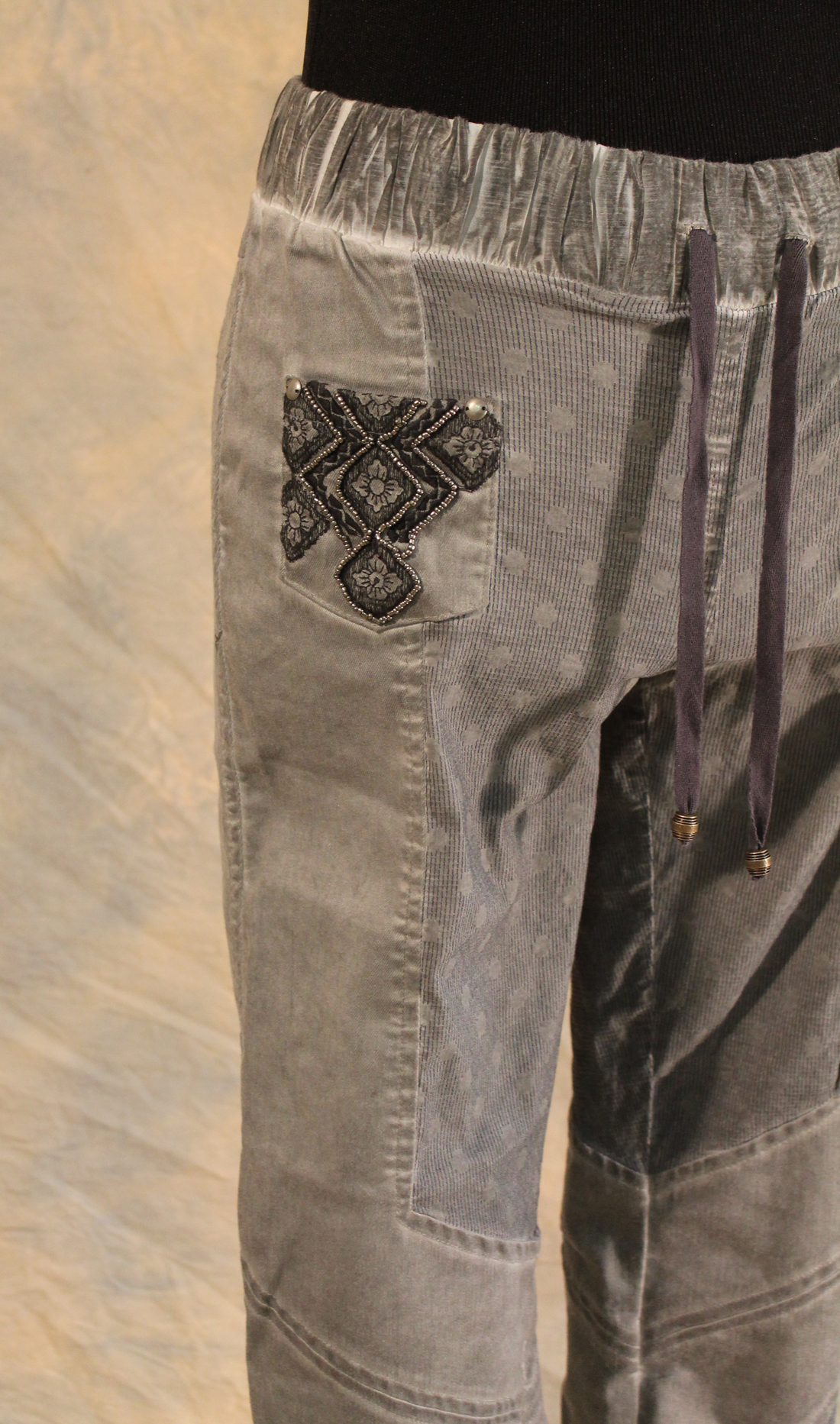 Angels Never Die Beaded Denim Pant SOLD OUT