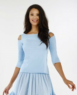 Luna Luz: Open Sleeve Top (Ships Immed, 2 Left!)