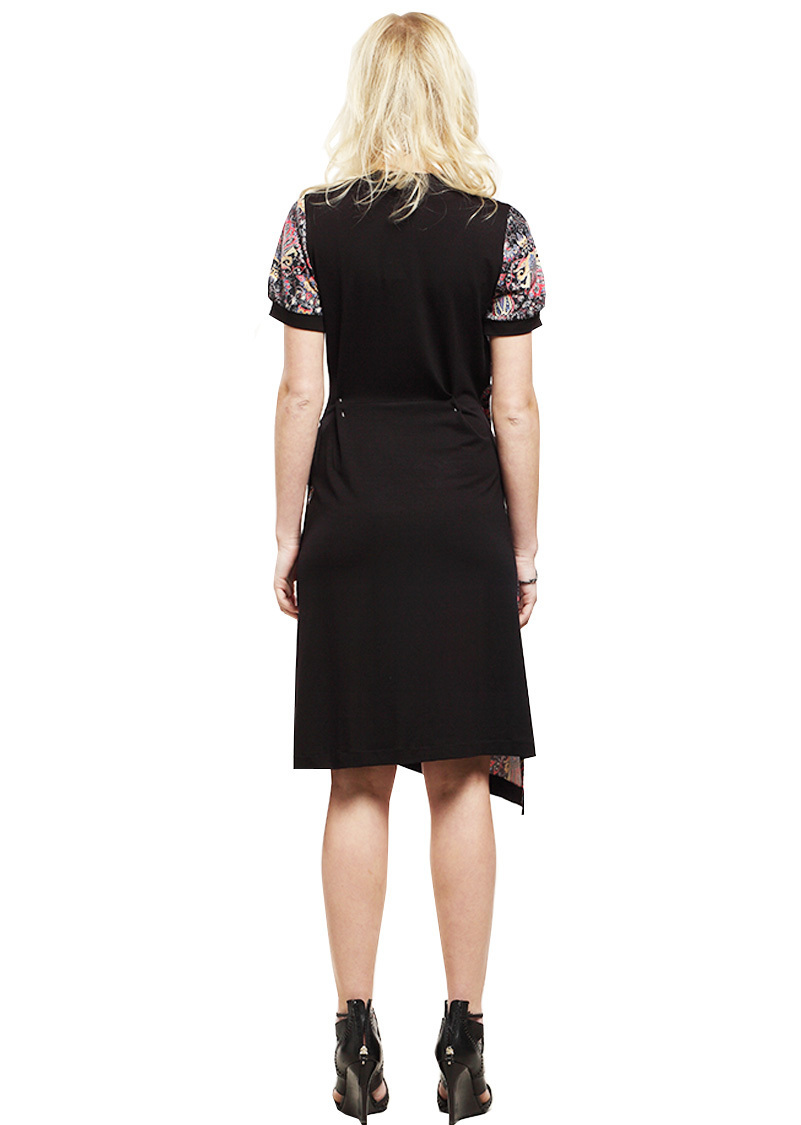 Double Jeu Paris: Asymmetrical Light Up Designed Midi Dress (1 Left!)