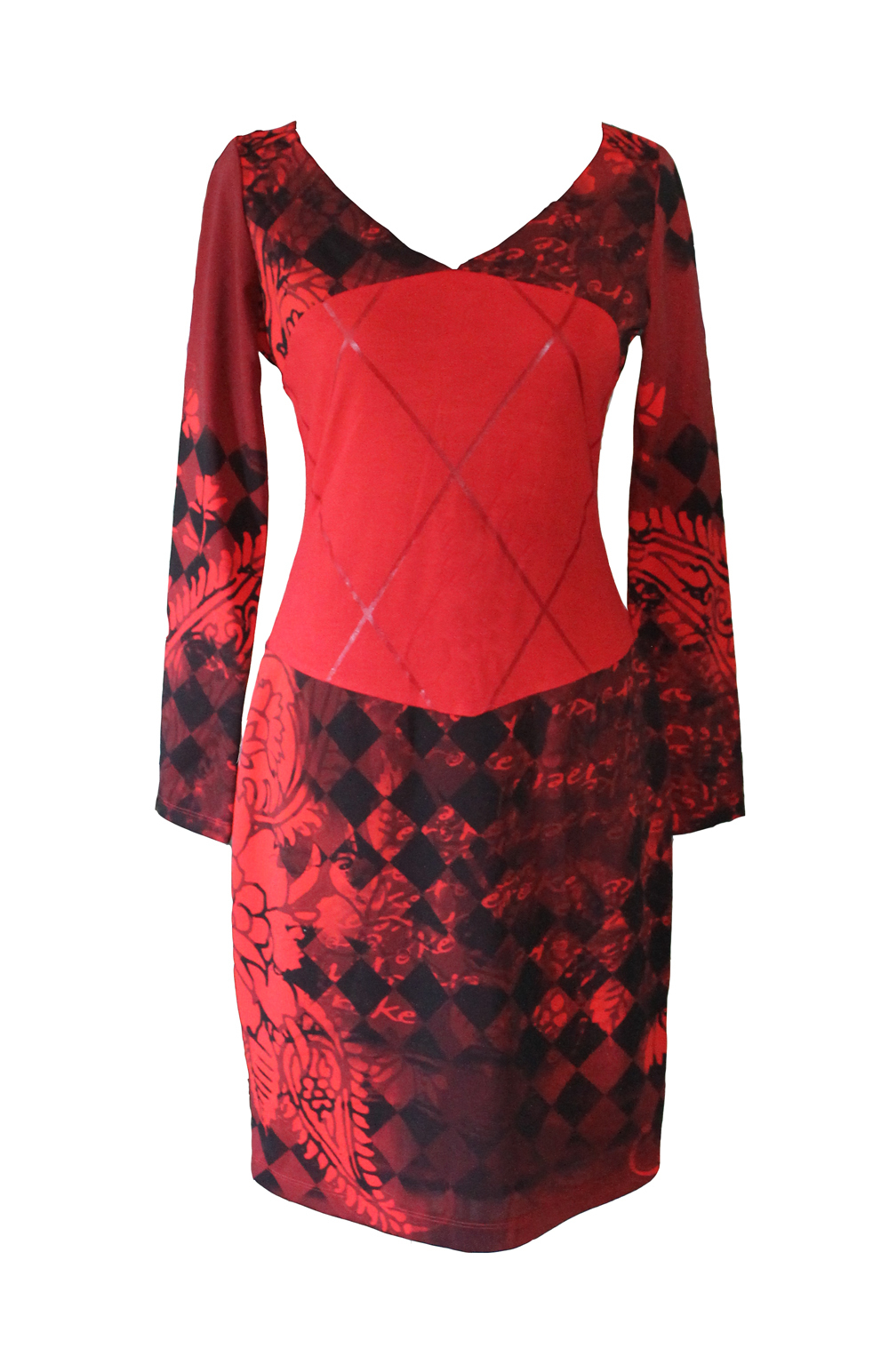 Eroke Italy: Red Hot Diamond Dress (1 Left!)