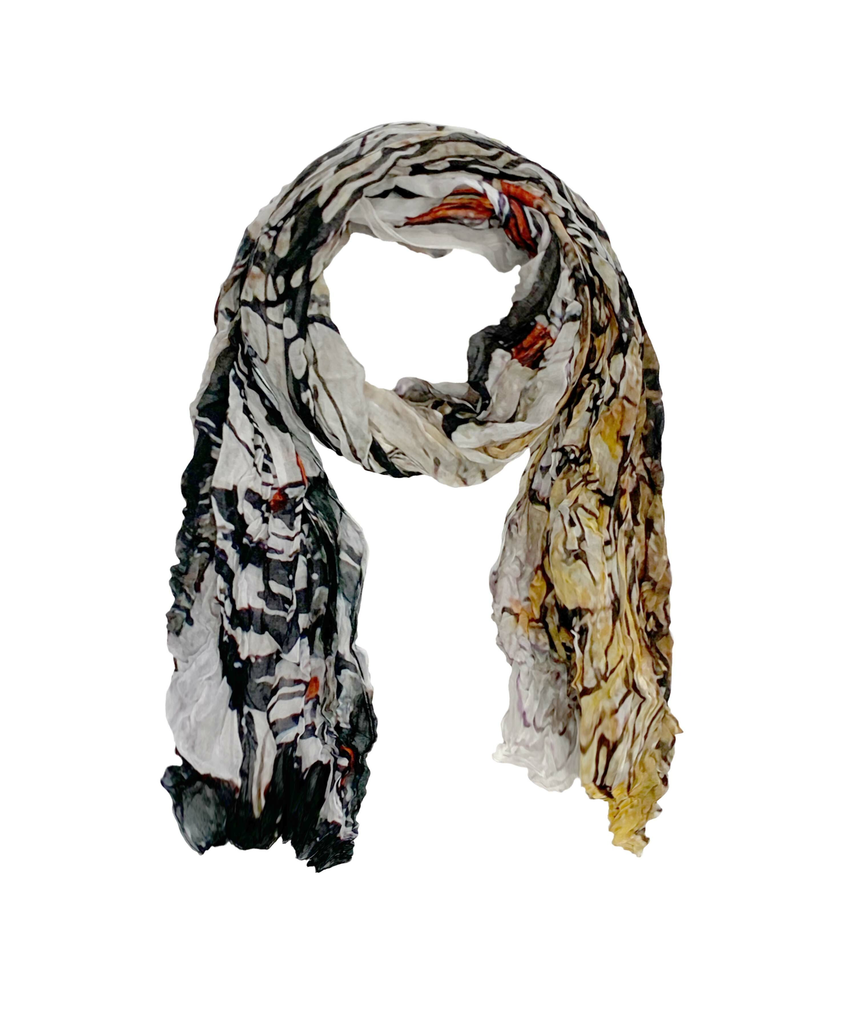 Simply Art Dolcezza: Parisian Life Abstract Art Scarf SOLD OUT Dolcezza_SimplyArt_59910