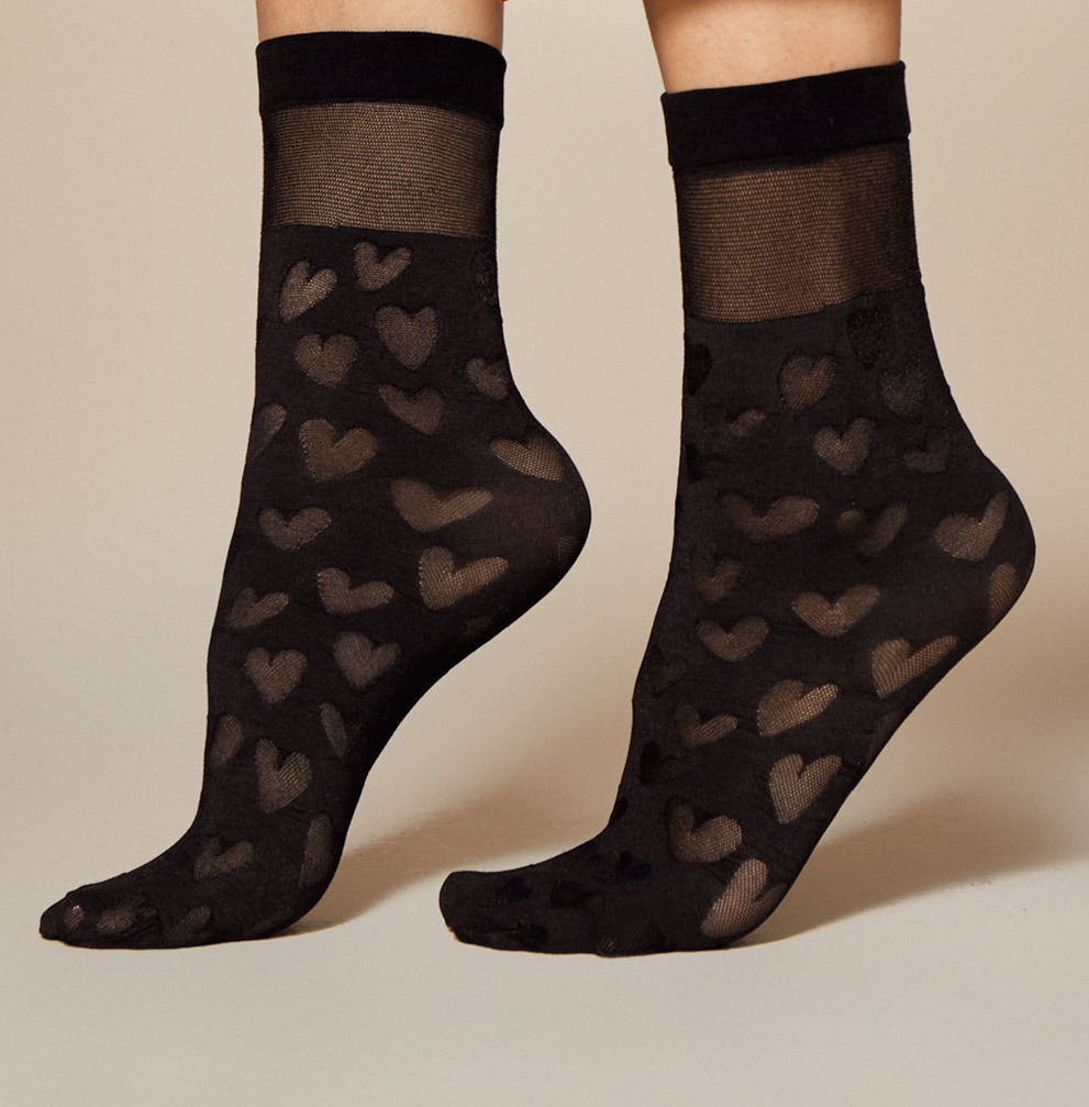 Fiore: Love Cloud Nylon Socks FIO_DATE