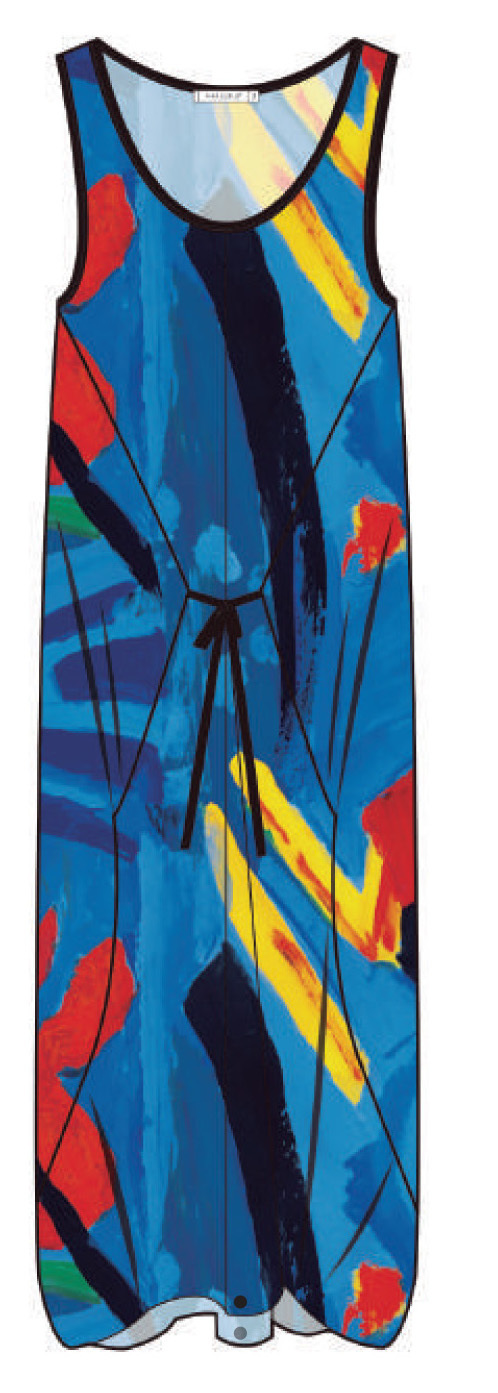 Maloka: Colors Of Picasso's Gypsy Beauty Abstract Art Jumpsuit