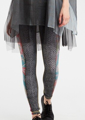 IPNG Royal Summer Camp Color Contrast Illusion Legging