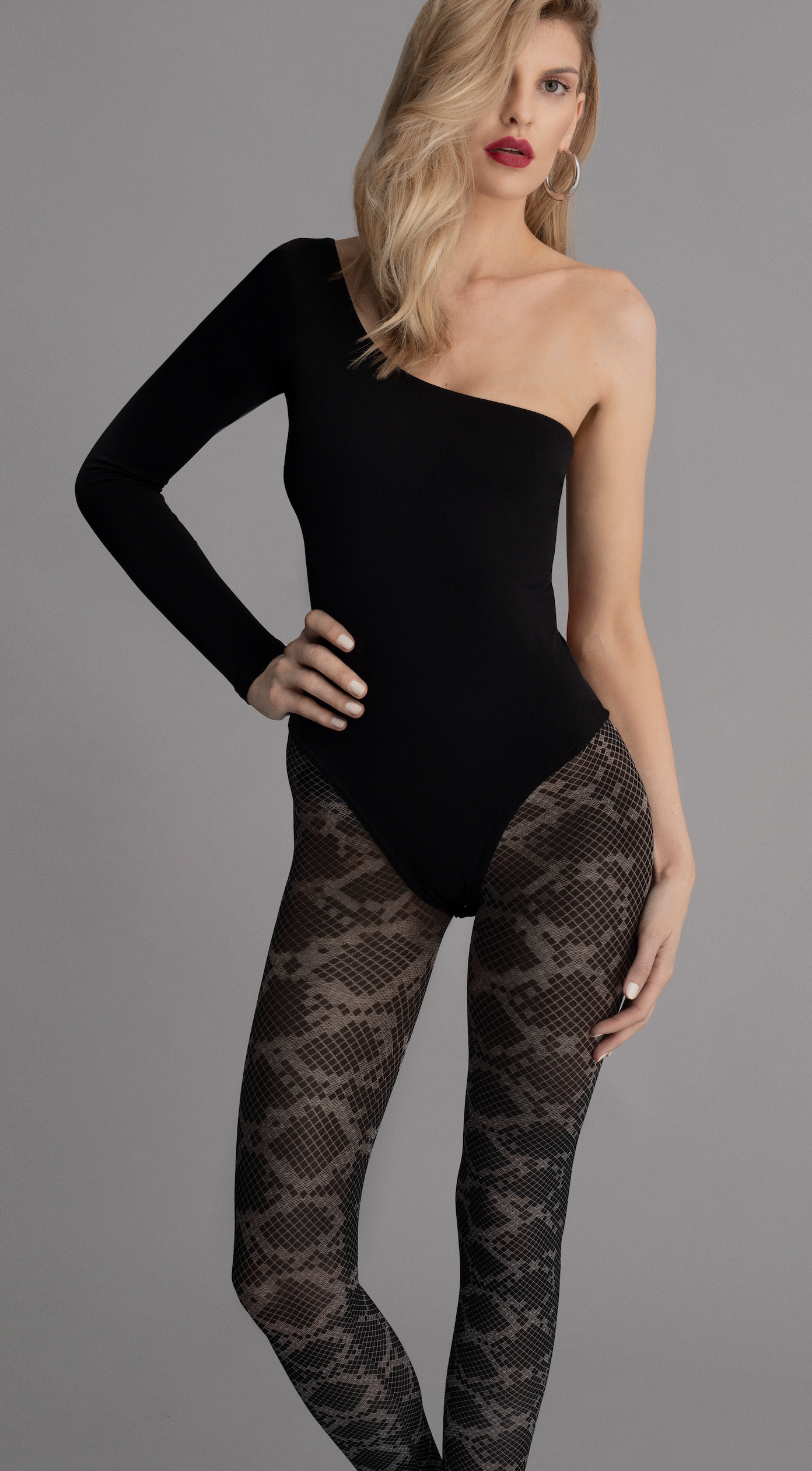 Fiore: Blotched Snake Tights FIO_CITYJUNGLE