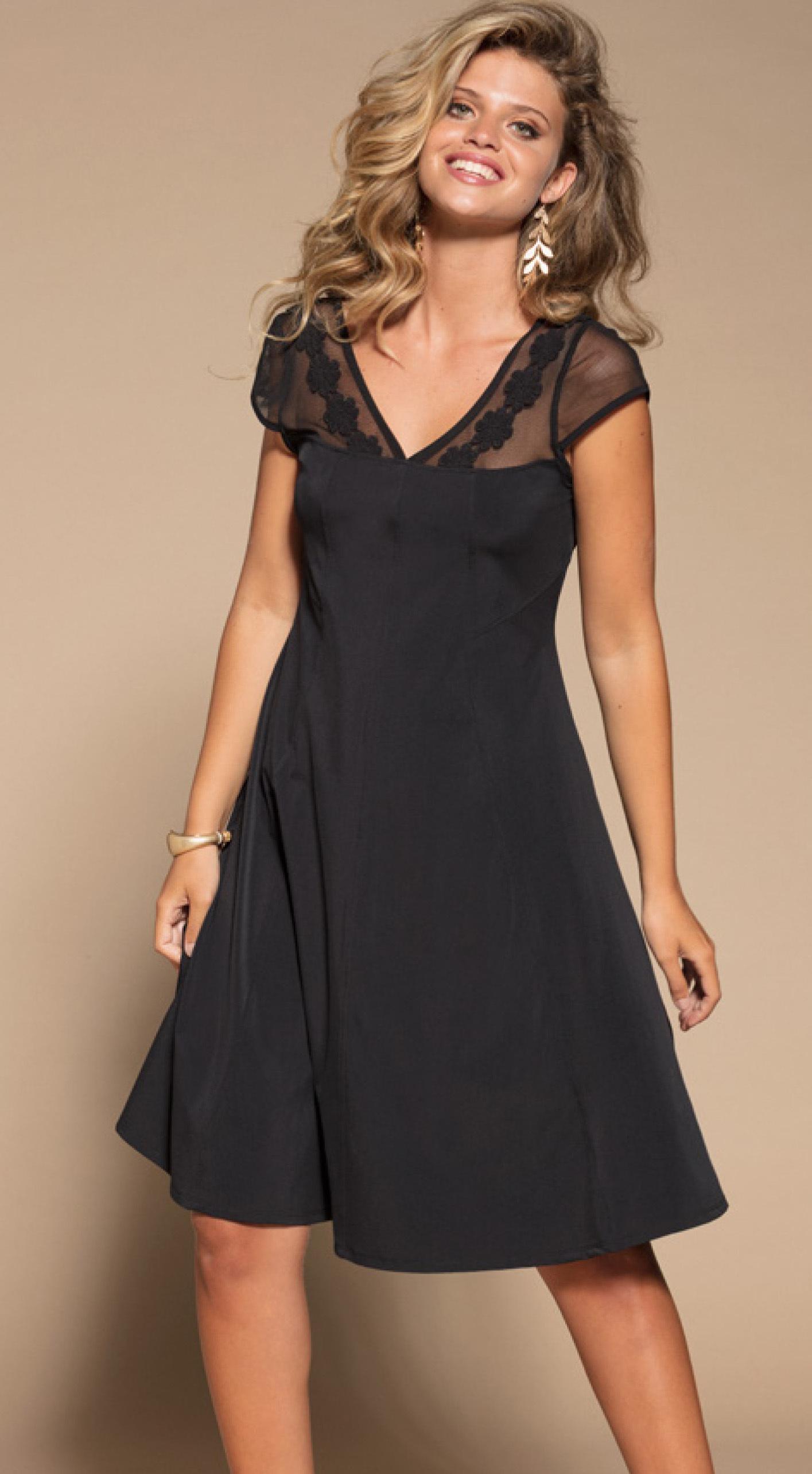 Maloka: Never Take Me Off Little Black Dress (Many Colors!) MK_KORBY