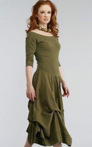 Luna Luz: Tied & Dyed Off The Shoulder Godet Dress (NEW Colors! ) LL_393T_NEW