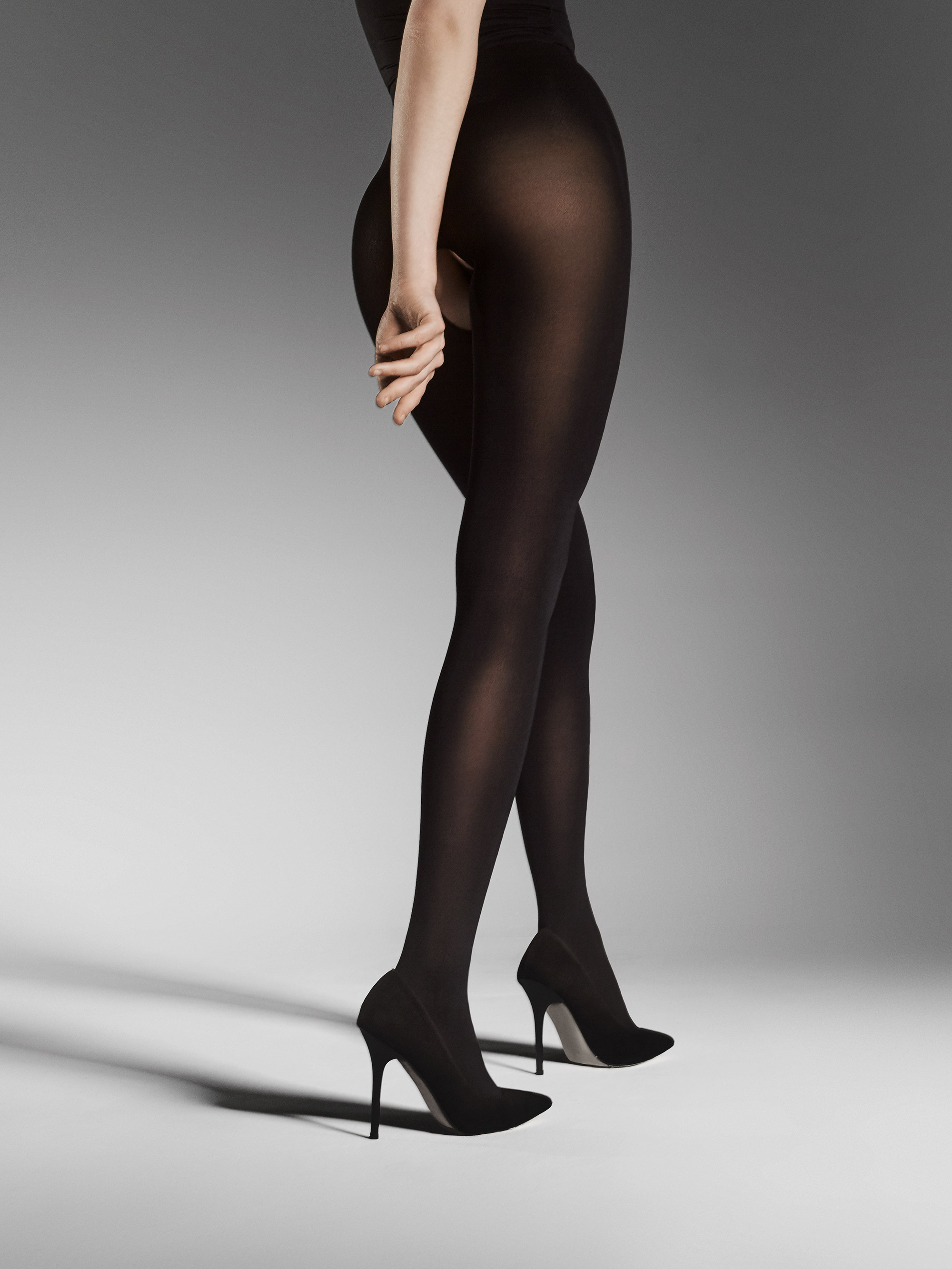 Fiore: I Have A Sexy Secret Open Gusset Opaque Tights FIO_OUVERT