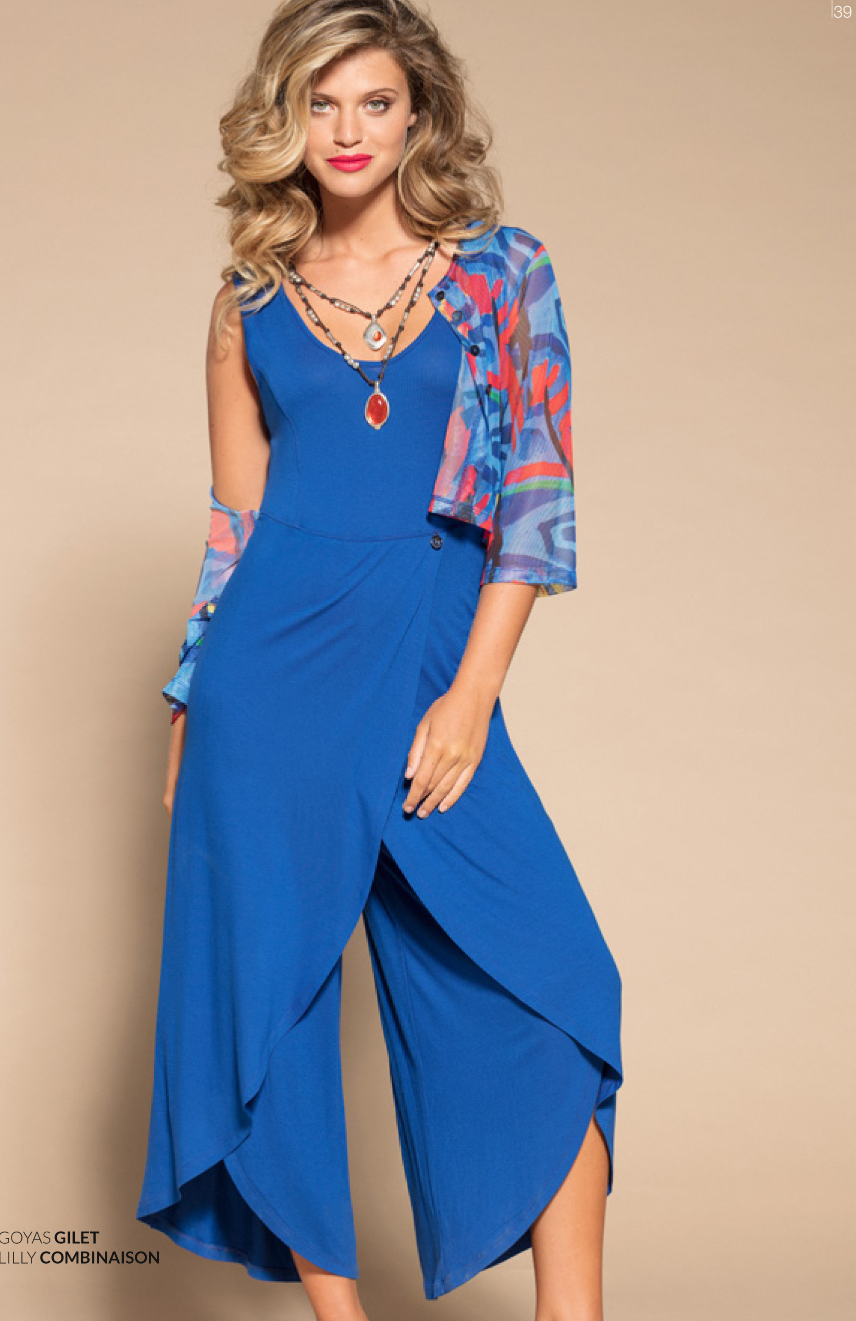 Maloka: Sexy Swirls & Bow Ties Wide Leg Jumpsuit MK_LILLY