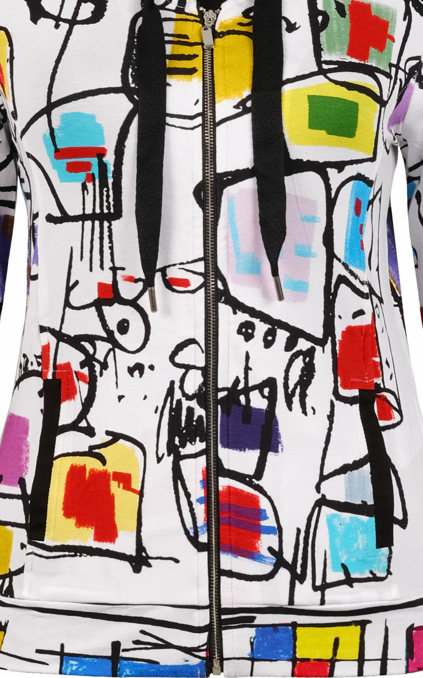 Simply Art Dolcezza: Etagere & Miss Eze Printed Hoodie Jacket (2 Left!)