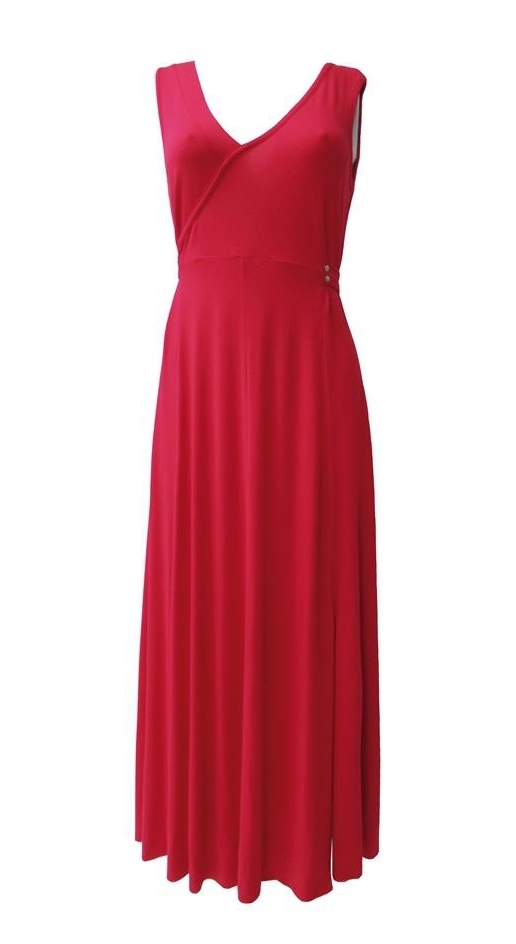Maloka: Tied Waist Glamorous Maxi Dress (Many Colors!)