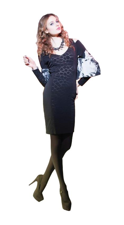 Eroke Italy: Cold Shoulder Tasty Dress EROKE_AB183