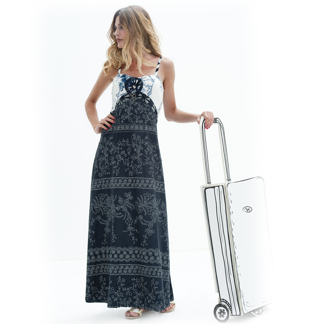 Savage Culture: Back Lace Up Ravishing Roxelle Sundress SAVAGE_26124_N