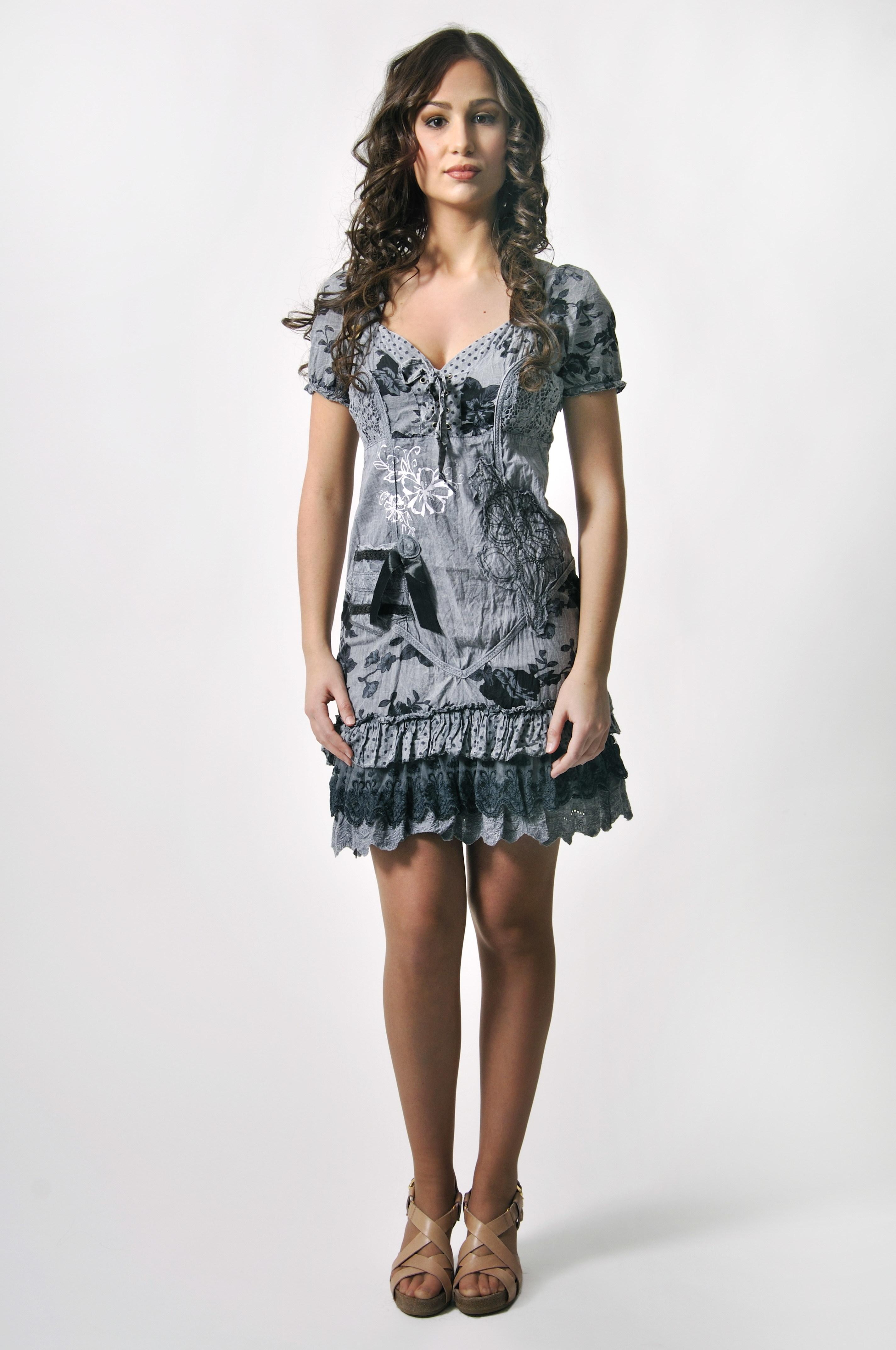 Savage Culture: Taste Me Tiffany Crinkled Cotton Dress (1 Left!) savage_26143_N