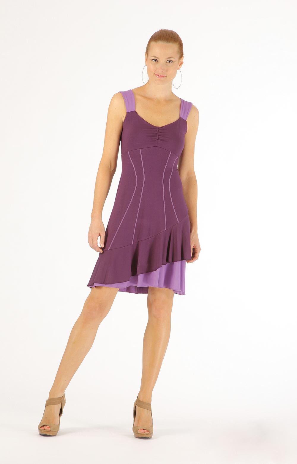 Luc Fontaine: Fabulous Falbala Dress (Almost Gone!) LF_FALBALA