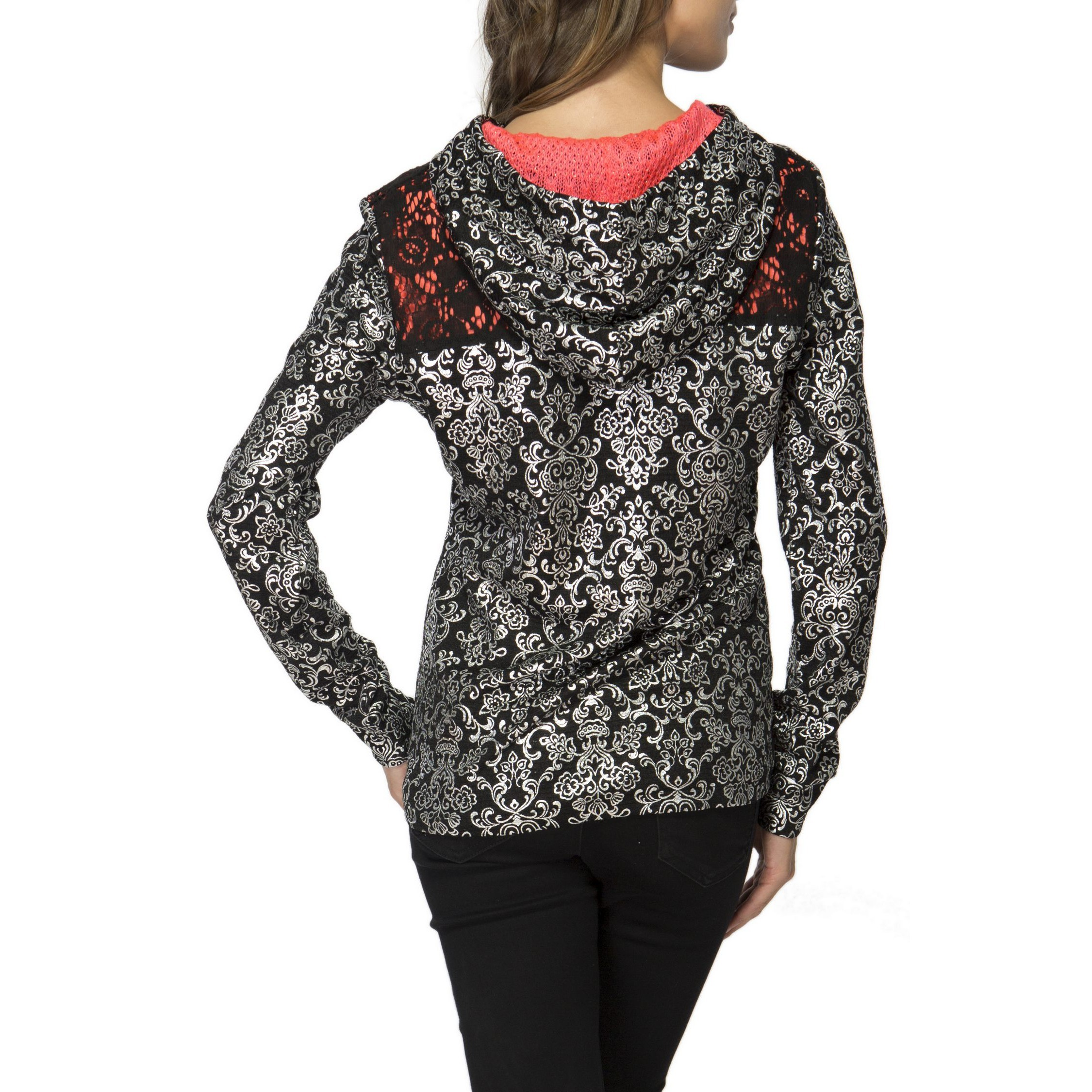 Culito From Spain: Bejeweled Hooded Jacket