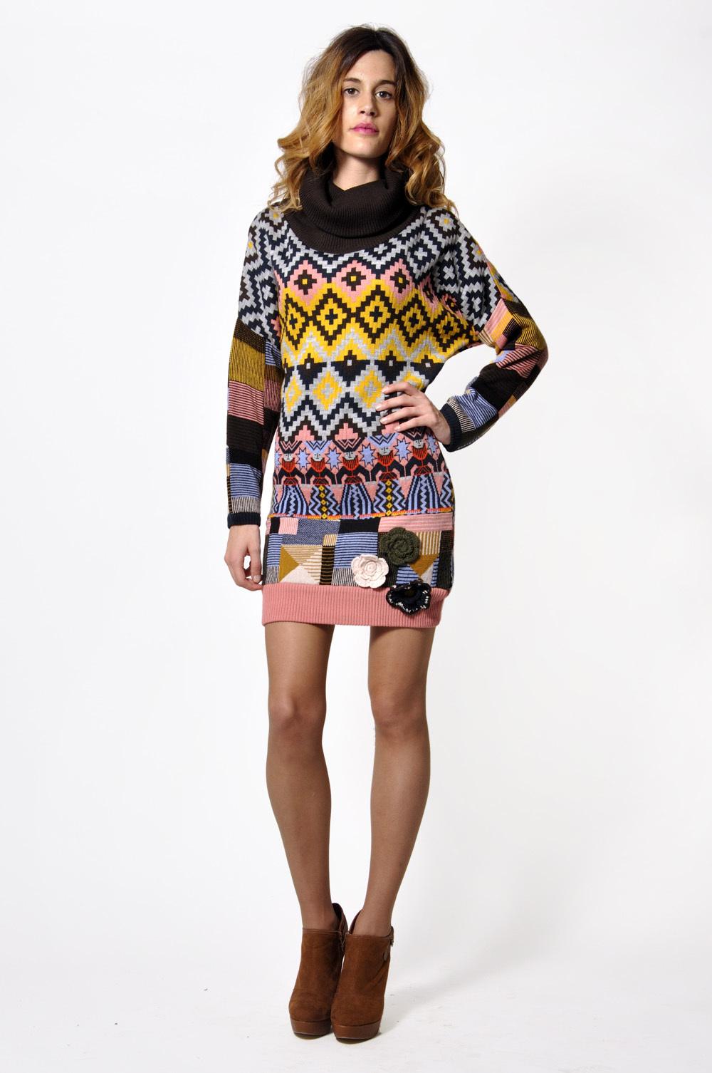 Savage Culture: Cashmere Odelia Sweater Dress (1 Left!)