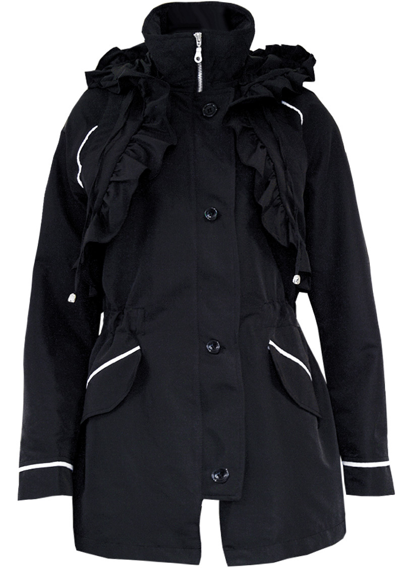 Double Jeu Paris: Magic Parachute Trench Coat (1  Left!) DJ_PARKA_MAGIC_NOIRE_N