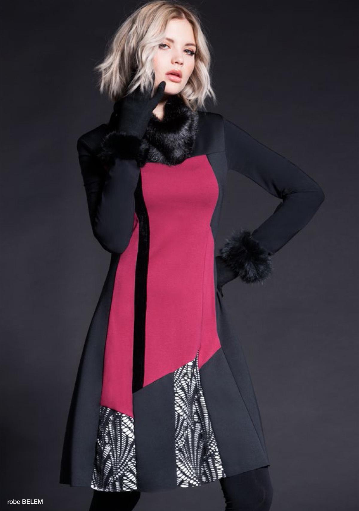 Maloka: Colored Diamond Twist Dress (More Colors!) MK_BRIDGET_N6