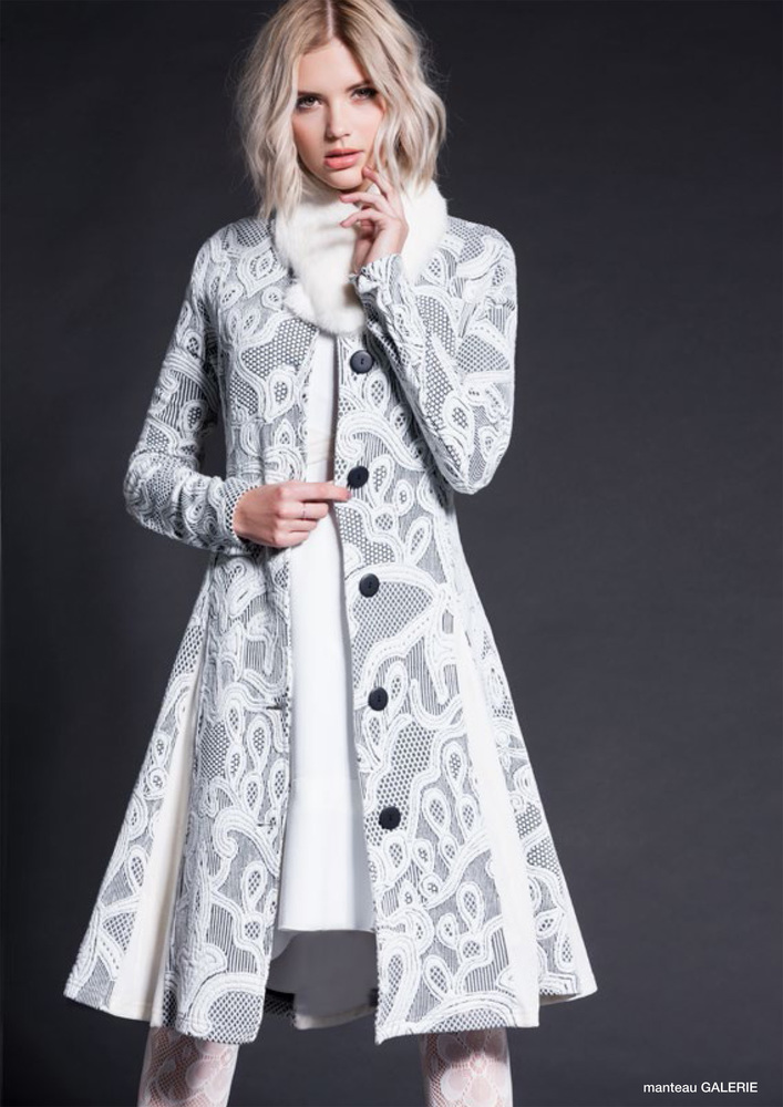 Maloka: White Diamond Jacquard Coat (Few Left, More Colors!) MK_GALERIE_N4