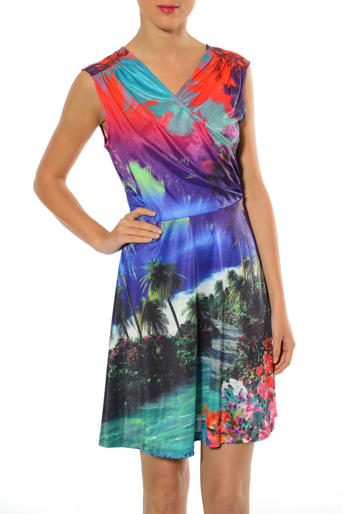 Smash! Spain: Island Breeze Print Dress SMASH_S1583110