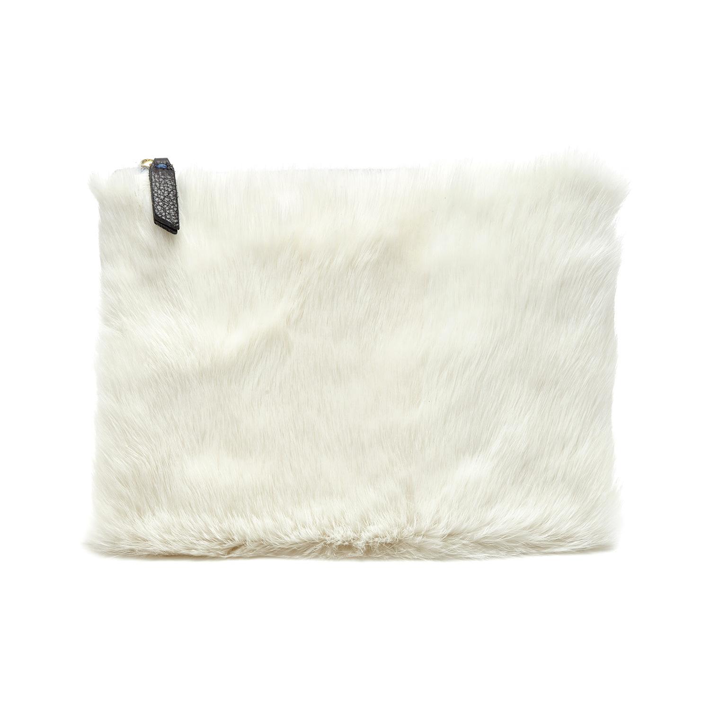 Campos Bags: Bunny Clutch (Genuine Rabbit Fur) CAM_FUR_CLUTCH