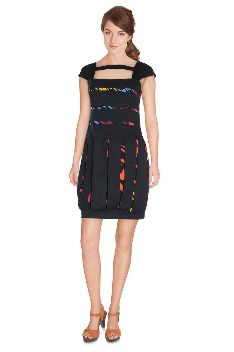 Pygmees Paris: Crystal Colors Globe Dress TT1576_N