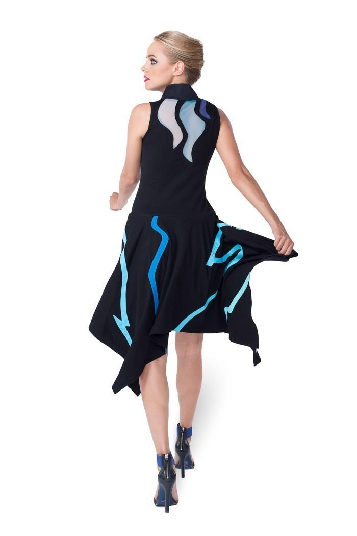 Pygmees Paris: Asymmetrical Sultry Geisha Dress