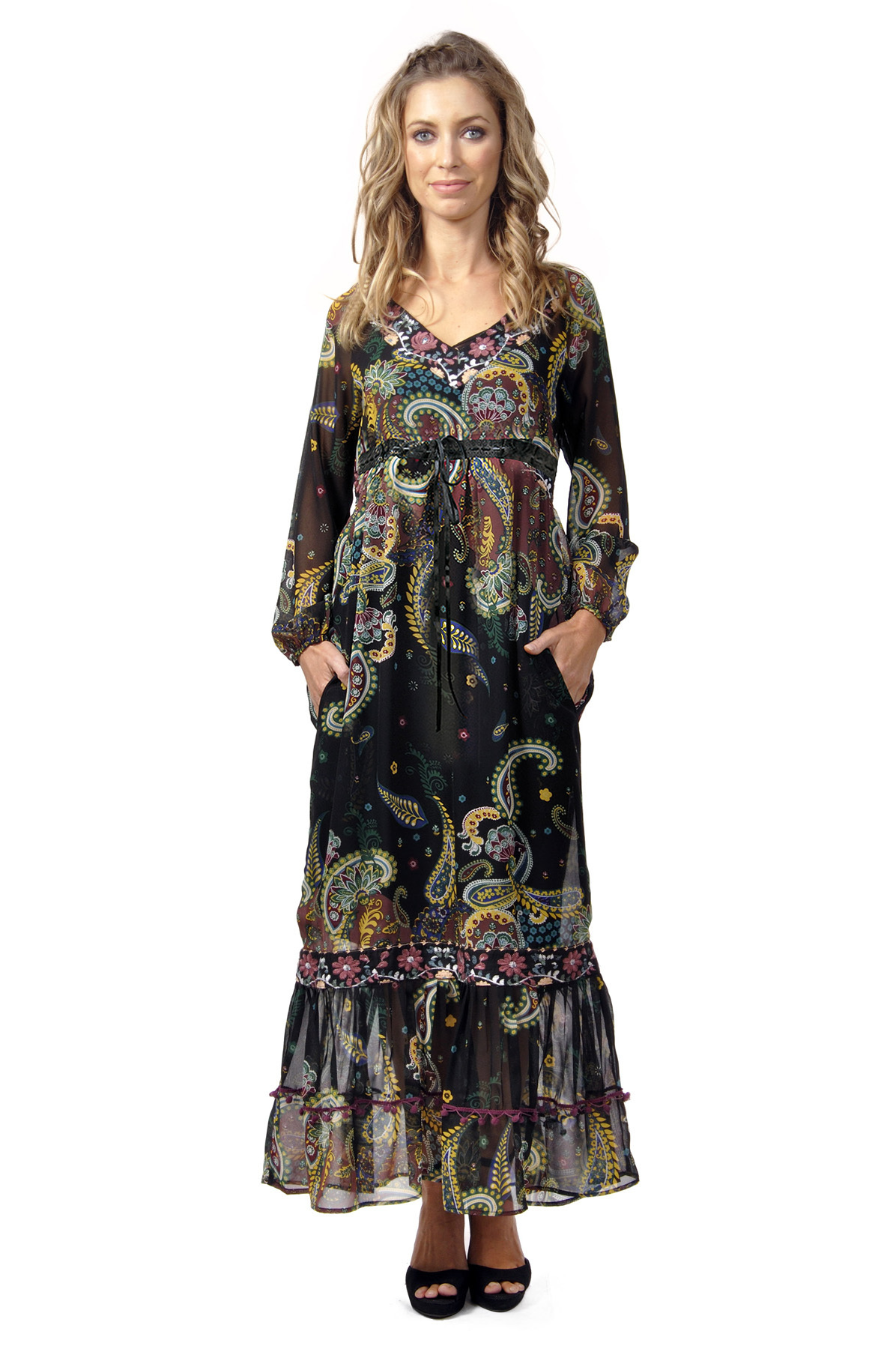 Savage Culture: Lounge In Love Maxi Dress Alicia (2 Left!) SAVAGE_30274