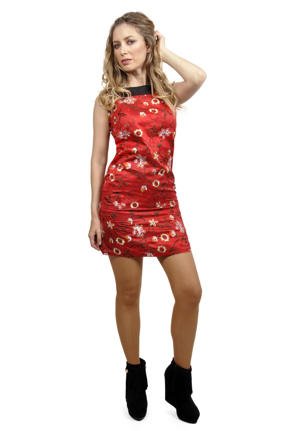 Savage Culture: Petal Crepe Dress/Tunic Rene II