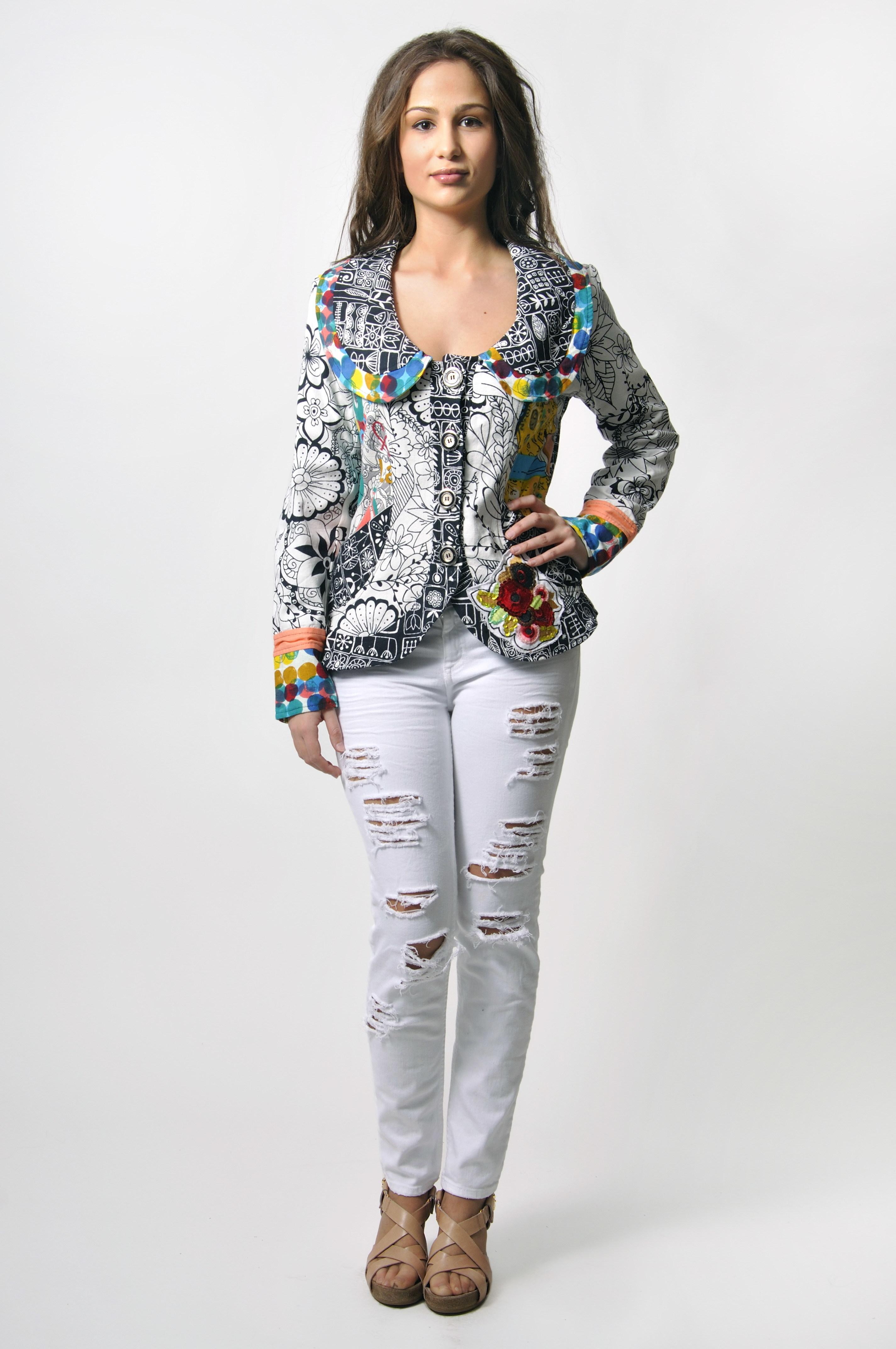 Savage Culture: Kira Shop-a-holic Short Jacket (1 Left!)
