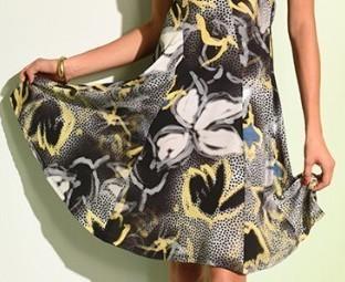 Eroke Italy: Sweet Bumble Bee A-line Sundress (1 Left!)