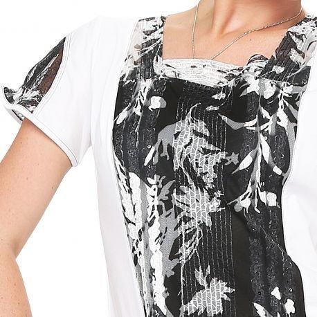 S'Quise Paris: Yin Yang Blooming Tunic
