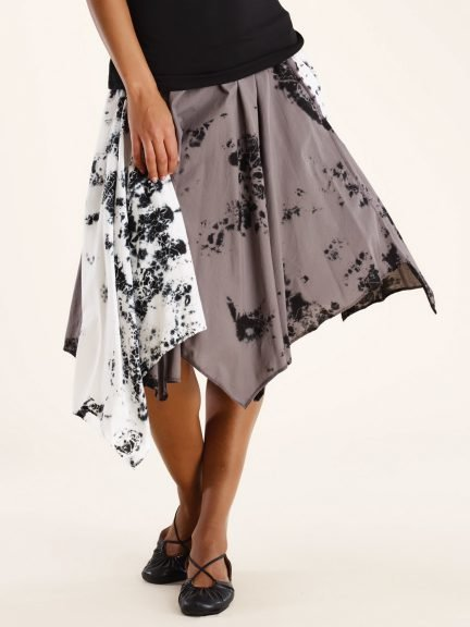 Luna Luz: Yoruba Asymmetrical Handkerchief Skirt (Ships Immed!)