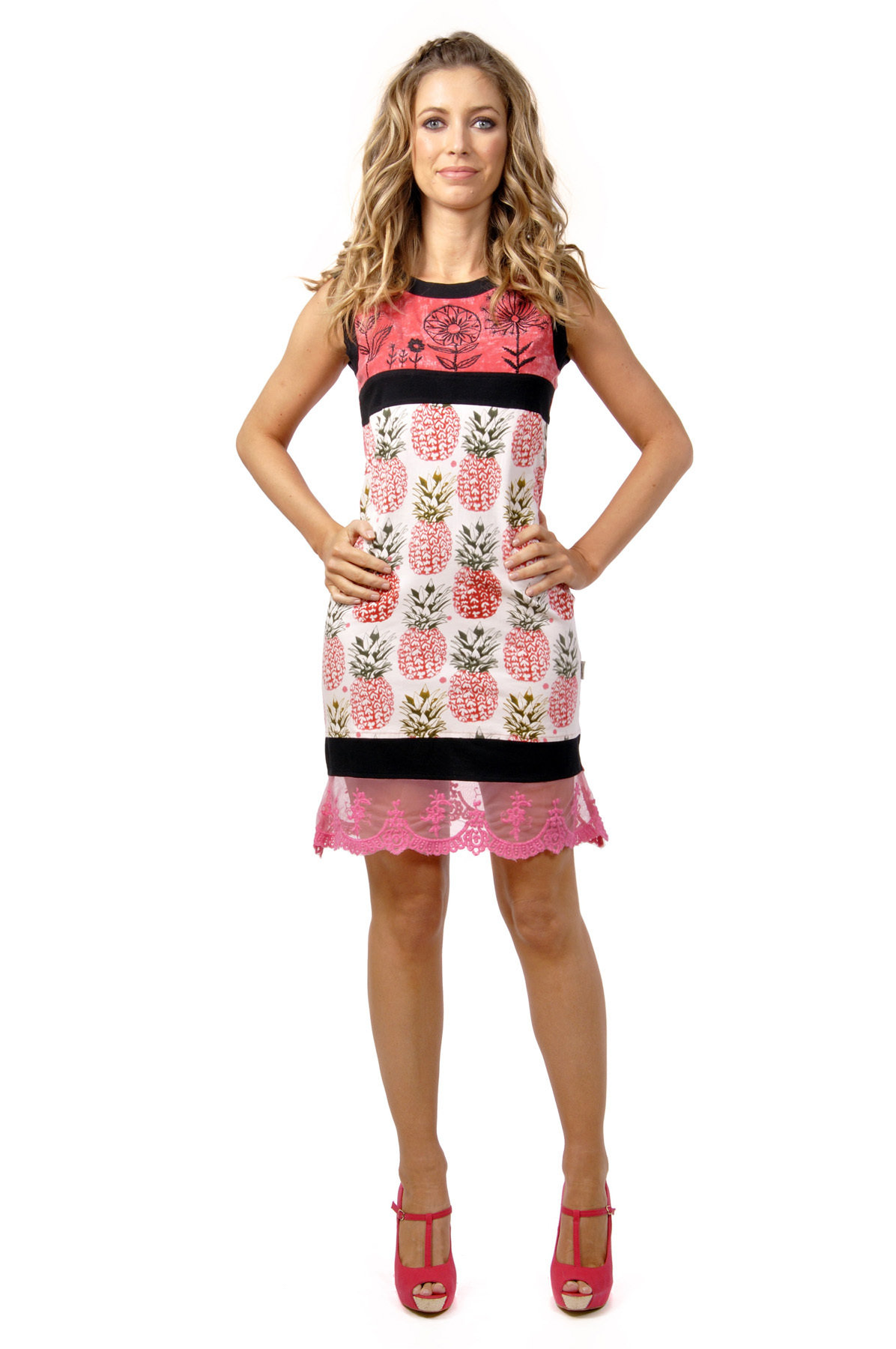 Savage Culture: Pink Pina Colada Laurie Dress (1 Left!) SAVAGE_30022_PINK