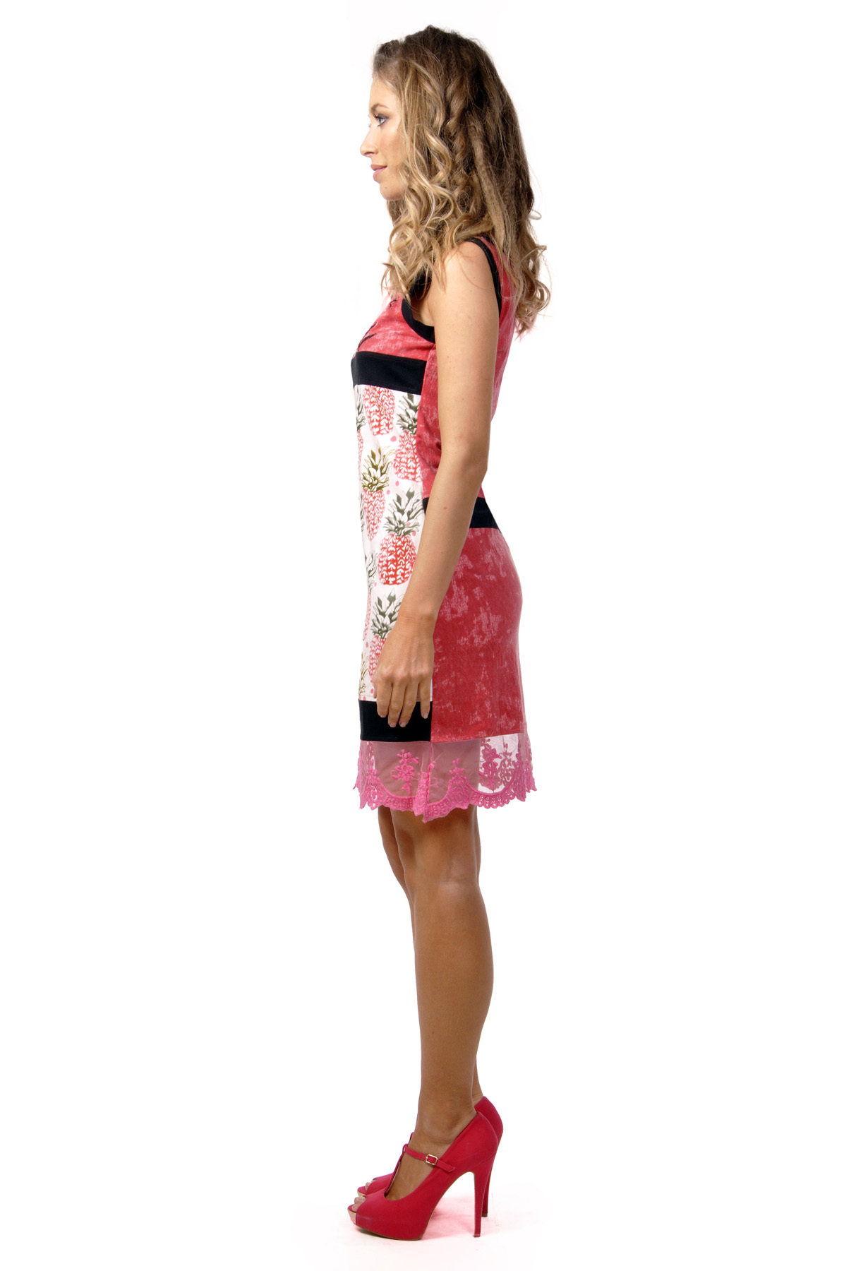 Savage Culture: Pink Pina Colada Laurie Dress (1 Left!)