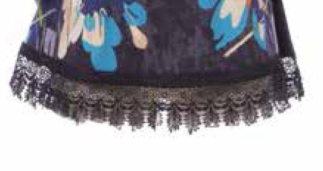 Savage Culture: Blue Violet Cotton Keyhole Blouse Randa