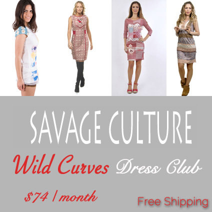 Style of the Month Dress Club: Savage Culture SSW_SC