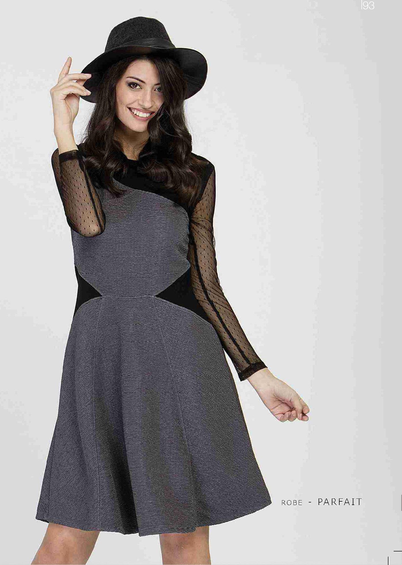 Maloka: Diamond Twist Scrunched Ribbon Dress MK_PARFAIT_N