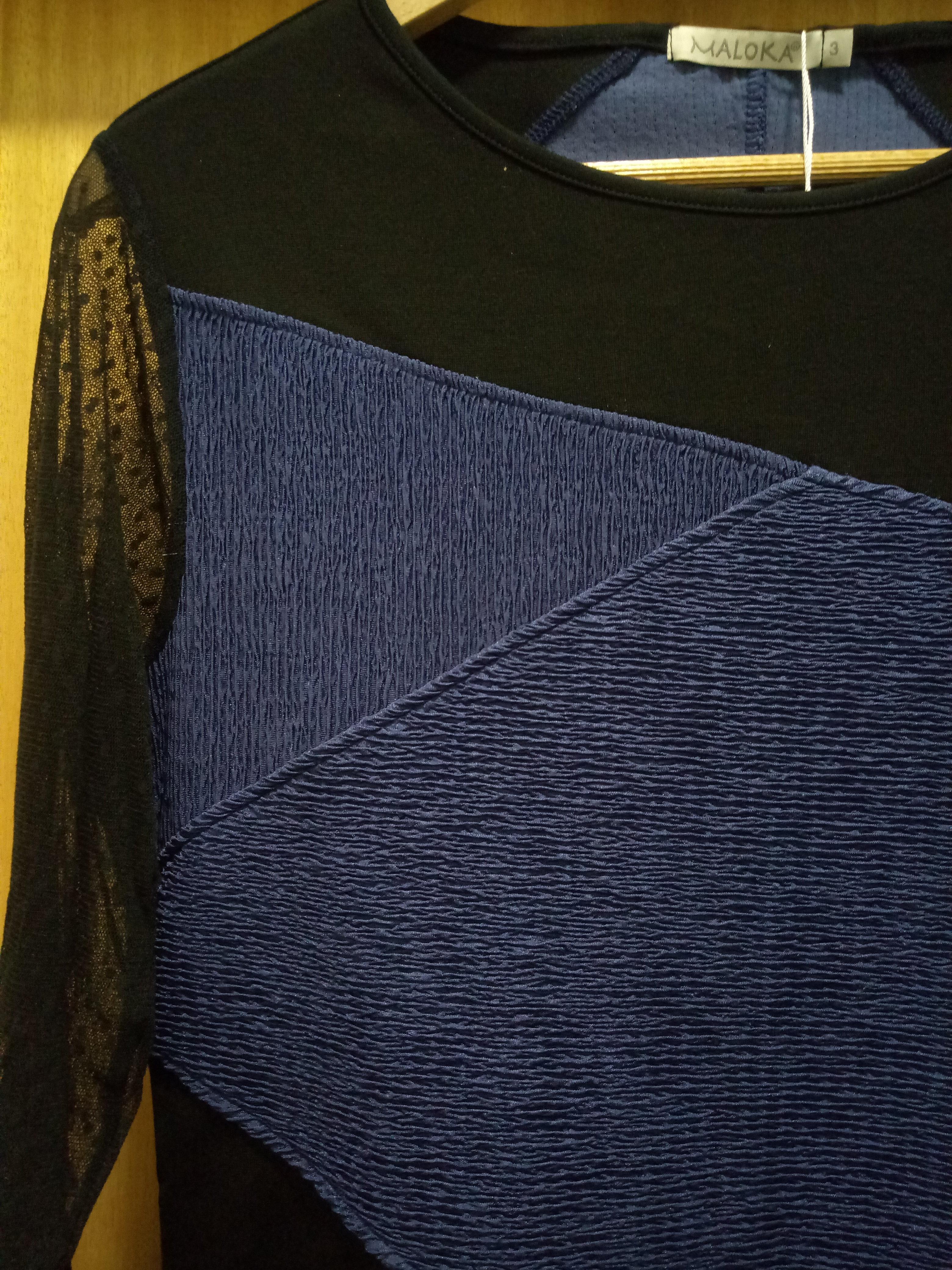 Maloka: Diamond Twist Scrunched Ribbon Dress